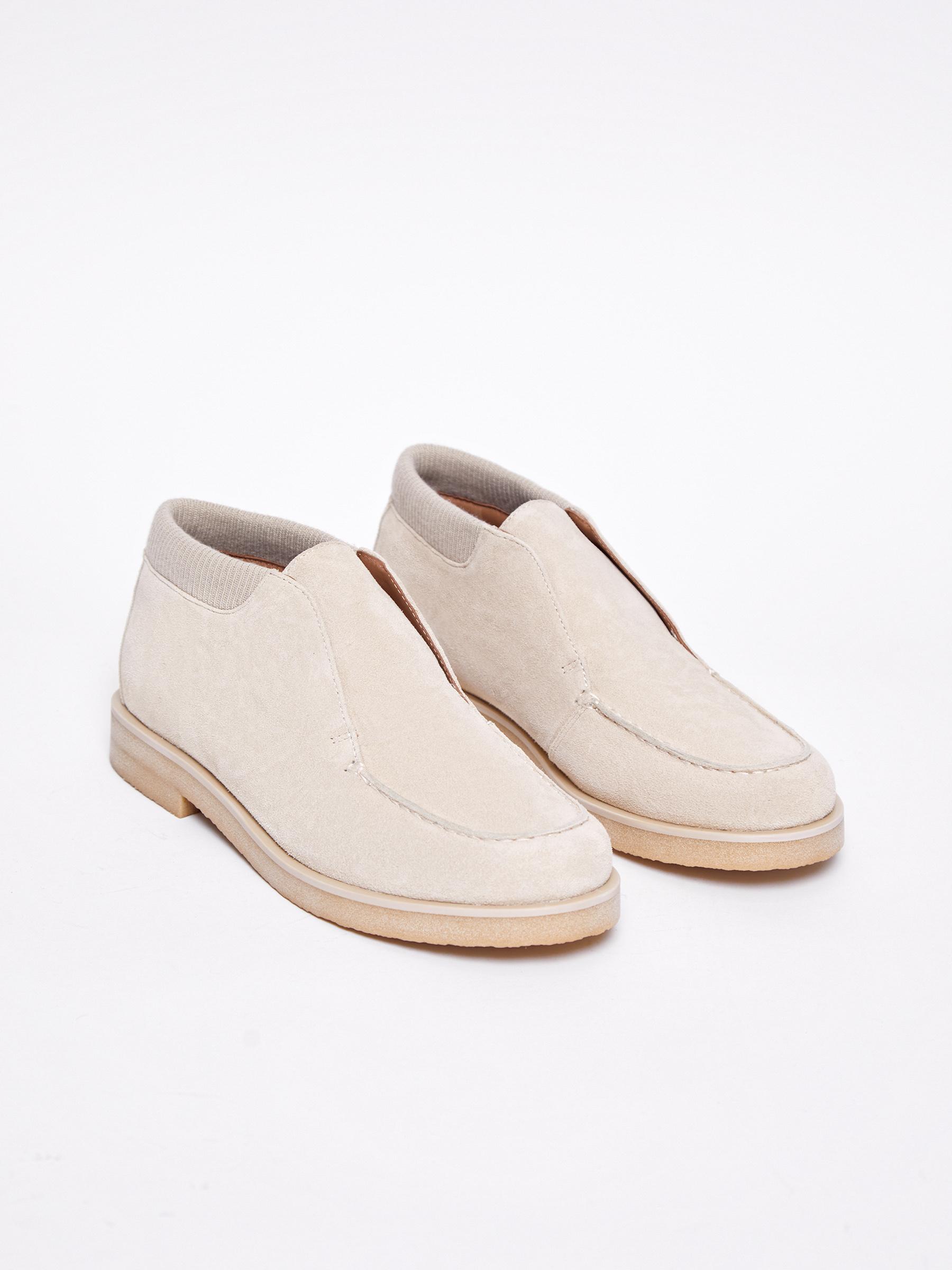 Низкие ботинки на резинке