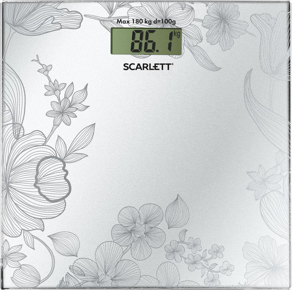 Весы напольные Scarlett SC-215 электронные