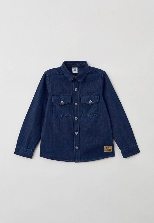 Рубашка джинсовая Petit Bateau