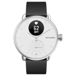 Умные часы Withings ScanWatch 38мм with silicone band
