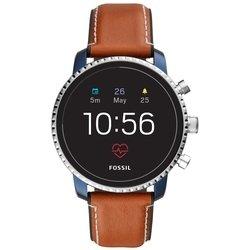 Умные часы FOSSIL Gen 4 Smartwatch Explorist HR (leather)