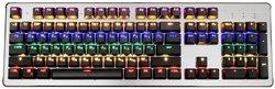 Игровая клавиатура OKLICK 970G Dark Knight Silver USB