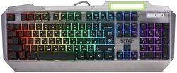 Игровая клавиатура Defender Stainless Steel GK-150DL RU RGB Silver USB