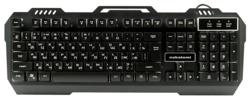 Игровая клавиатура NAKATOMI KG-35U Black USB