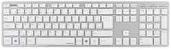 Клавиатура HAMA Rossano White-Silver USB