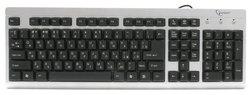 Клавиатура Gembird KB-8300UM-SB-UR Silver-Black USB