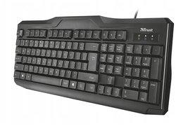 Клавиатура Trust ClassicLine Keyboard Black USB