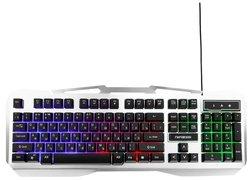 Клавиатура Гарнизон GK-500G Silver USB