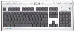 Клавиатура A4Tech KLS-7MUU Silver USB