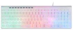 Клавиатура OKLICK 490ML Multimedia Keyboard White USB