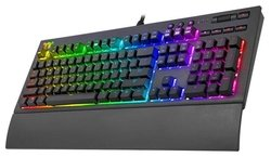 Игровая клавиатура Thermaltake Premium X1 Cherry MX Speed Silver