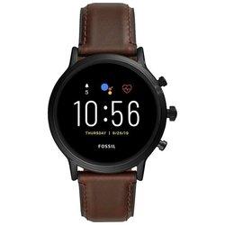 Умные часы FOSSIL Gen 5 Smartwatch The Carlyle HR (leather)