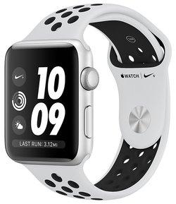 Умные часы Apple Watch Series 3 38мм Aluminum Case with Nike Sport Band