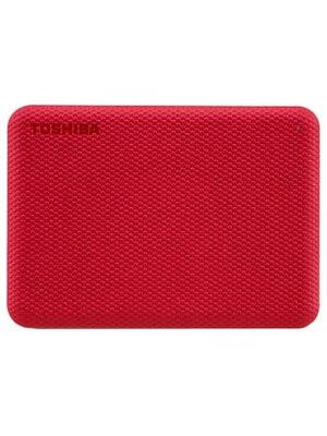 Внешний жесткий диск 1 ТБ Toshiba Canvio Advance Red (HDTCA10ER3AA)