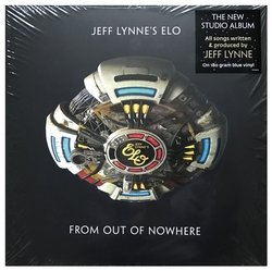 Jeff Lynne's ELO: From Out Of Nowhere. Blue Vinyl