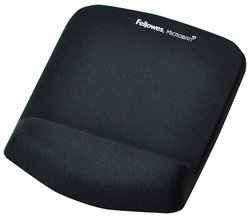Коврик Fellowes Plush Touch Mousepad Whrist support FS-92520/FS-92873
