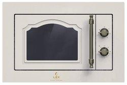 Микроволновая печь встраиваемая LEX BIMO 20.01 C IVORY LIGHT