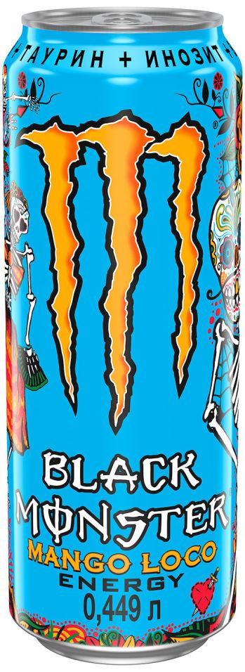 Напиток энергетический Black Monster Mango Loco Energy 499мл
