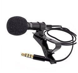 Петличка микрофон Jack 3.5 с доп. Разъемом 3.5 (Черный)