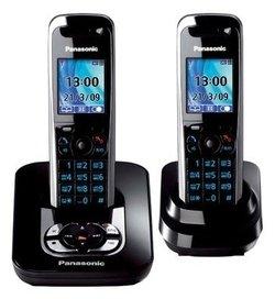 Радиотелефон Panasonic KX-TG8422 RUT черный