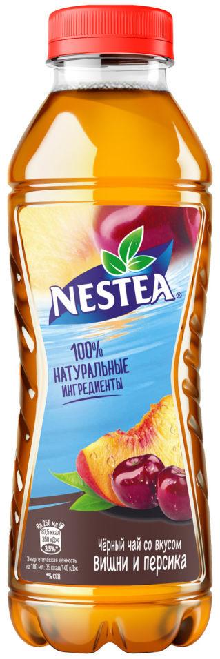 Чай черный Nestea Вишня-Персик 0.5л