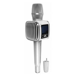 TOSING G6+ караоке микрофон с колонками, динамический, вокальный, беспроводной, Bluetooth, LED подсветка