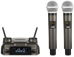 Беспроводные микрофоны на аккумуляторах SkyDisco MIC-WL25
