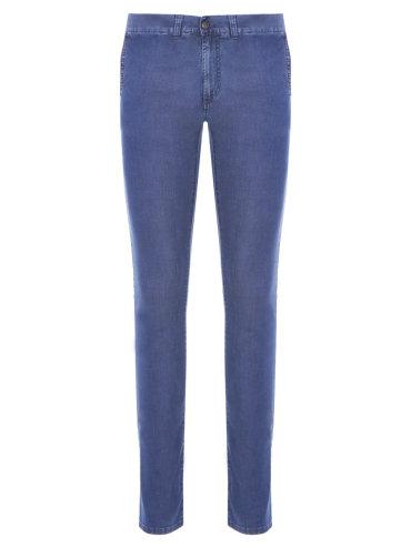 Хлопковые джинсы Slim Fit