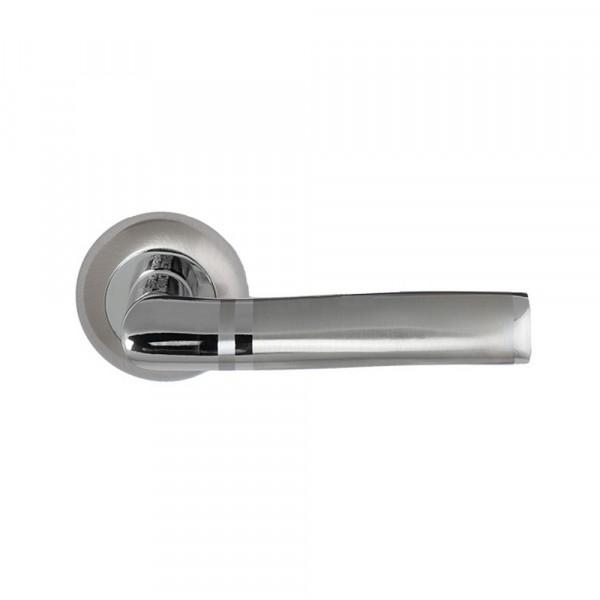 ручка дверная  fz 02 sn(матовый никель)
