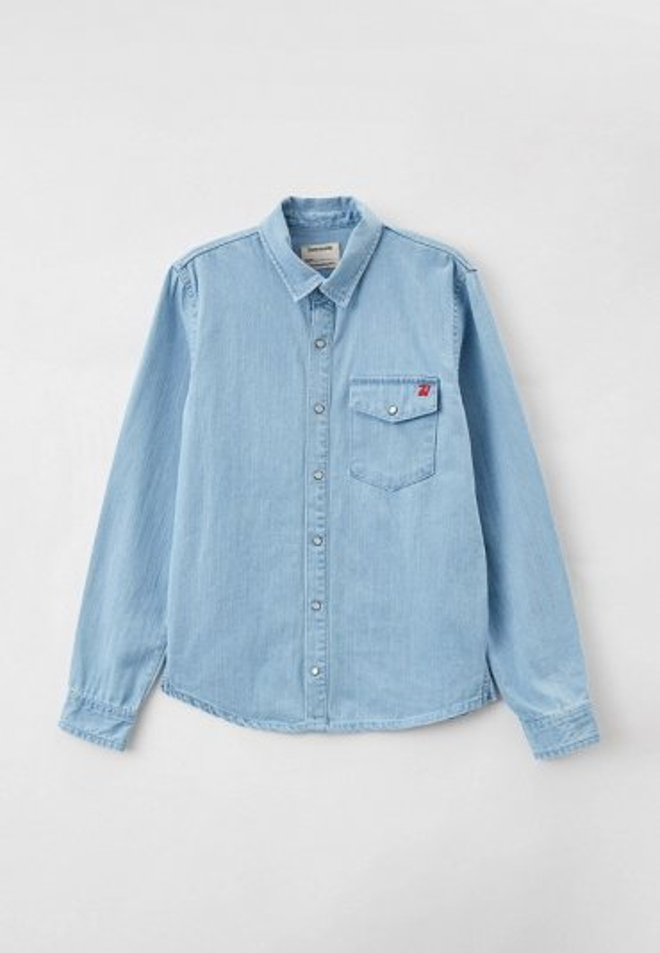 Рубашка джинсовая Zadig & Voltaire