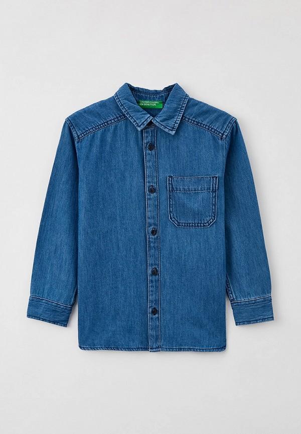 Рубашка джинсовая United Colors of Benetton