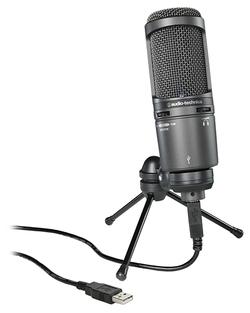 Микрофон Audio-Technica AT2020USB+